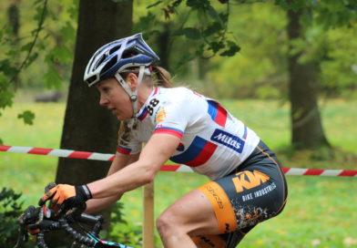 Janka Keseg Števková na rakúskych pretekoch kat. UCI C2 druhá